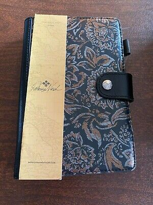 PATRICIA NASH Chieti Tri-Metallic Italian Leather Agenda 2019/2020 NEW
