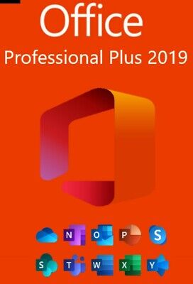 Microsoft Office 2019 Professional Plus License Key Lifetime ✔️5 Sek Delivery✔️