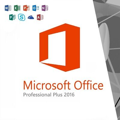 Microsoft Office 2016 Professional Plus License Key Lifetime ✔️5 Sek Delivery✔️