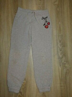 Girls Sweet League joggers/ PE pants/ sports tracksuit bottoms size 8-9 years