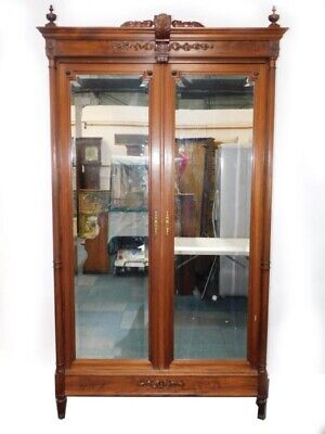 French Empire Style Mahogany Armoire