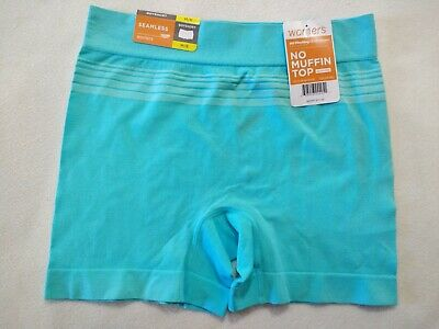 """Msrp 11.50 The Best Warners """"No Muffin Top"""" Seamless Boyshorts- Size 6"""