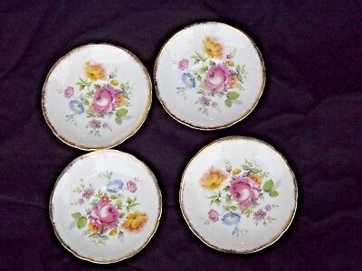 Fine Bone China English Tea Set 5945 Floral Design Crown Hall Mark