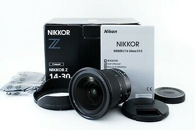 Nikon NIKKOR Z 14 30mm 14-30 f/4 f4 S Camera LensExcellent from JAPAN #556271