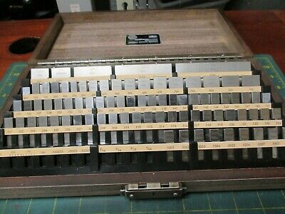 Machinist Tools * Starrett / Webber * Gage Block * 81-A+