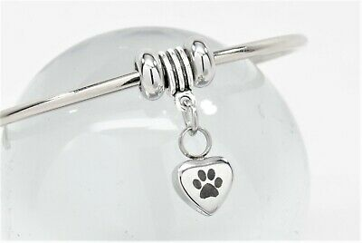 Cuff Style Dog or Cat Cremation Bracelet || Engravable Pet Keepsake Jewelry