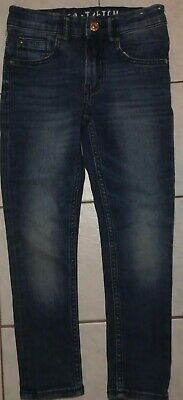 Boy's or girls skinny fit blue denim skinny jeans size 6 as new condition