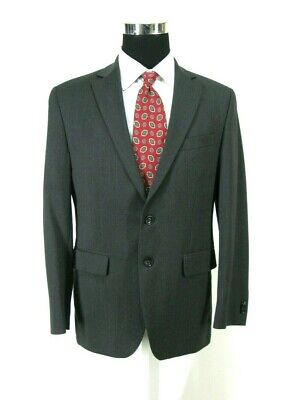 Banana Republic Modern Fit Suit Jacket 38S Gray All Season Wool Cerruti Blazer