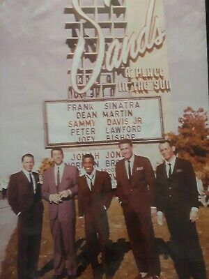 "Rat Pack The Movie Poster 24"" x 34"", Sammy Davis, Frank Sinatra, Dean Martin"