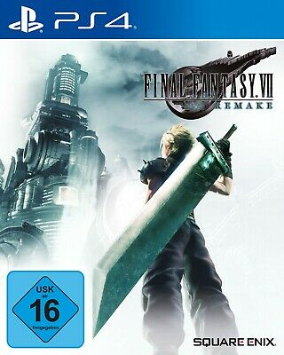 Final Fantasy VII (HD Remake) (Neuware) (Sony Playstation 4) -> Lieferbar 08.04.