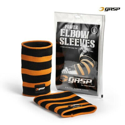 Gasp POWER ELBOW SLEEVES BLACK/FLAME 2X-LARGE