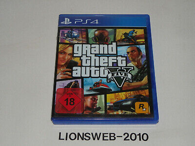 Sony Playstation PS4 Spiel - Grand Theft Auto 5 V   (USK 18)     #320