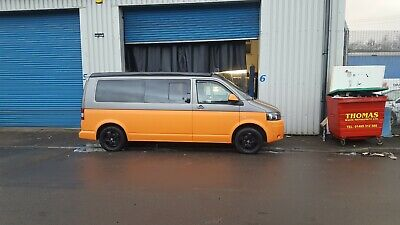 VW Transporter T5.1 Pop top camper van. Fully loaded. Well looked after