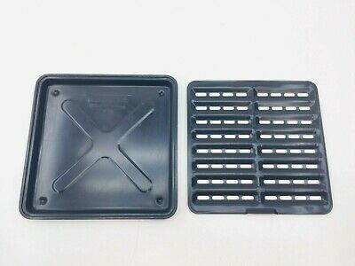 Ronco Showtime Rotisserie 4000 5000 Replacement Part DRIP TRAY + GRATE