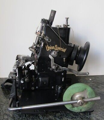 Union Special 43200G industrial sewing machine, vintage, restored.