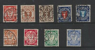 {Old 133} Germany Danzig Stamps From A Collection  Lot 9