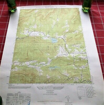 Bearsville, NY 1945Original USGS Topo Map Woodstock Byrdcliffe Lake Hill Willow