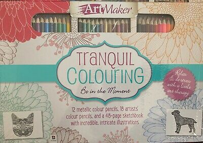 Art Maker - Ultimate Colouring Experience - Colouring Book With Pencil.