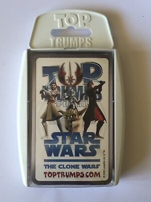 JEU DE 29 CARTES de collection STAR WARS - The Clone Wars - Top Trumps