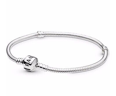 GENUINE pandora Moments Snake Chain Bracelet 18cm with 925 ALE stamp RRP£55