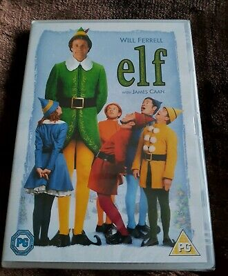 Elf DVD PG Will Ferrell and James Caan *New and sealed* Christmas film