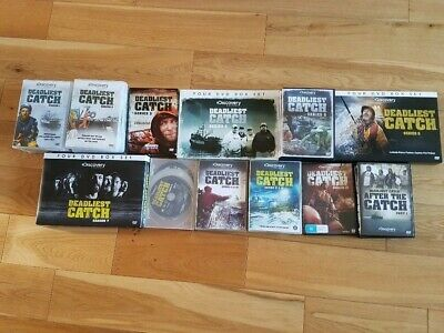 Deadliest catch series complete 1-13 including After the catch 1,2