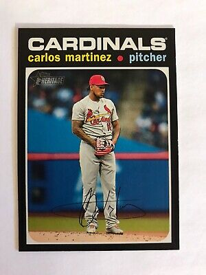 Carlos Martinez #450 SP 2020 Topps Heritage High Number- See other listings!