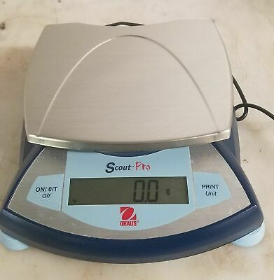 Ohaus Scout Pro Sp601 Balance Scale W/ Ac Adapter