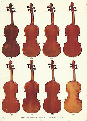 1905 Lyon and Healy Catalog PDF DOC 145 pages Violins Guitars Drums Saxophones