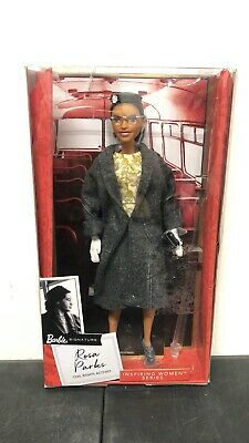 NEW! Barbie Signature Rosa Parks Civil Right Activist Inspiring Women Series