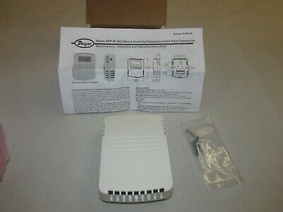 New in Box!! Dwyer RHP-2W11 Wall Mount Humidity Tempature Dew Point Transmitter