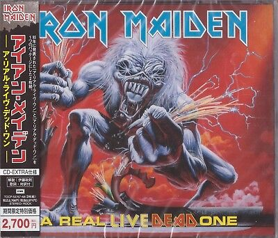 Iron Maiden 2Cd In Fat Multibox =A Real Dead One = Tocp- 53767-68 Factory Sealed
