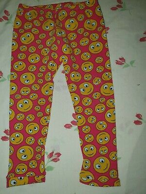18 Months Leggings Big Bums Little Bums ethical hippy handmade emoji yellow red