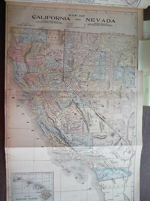 Maps  of  California and Nevada and  of Alaska and Part of British America and..