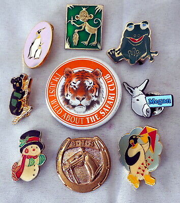 7 Animal Themed Badges