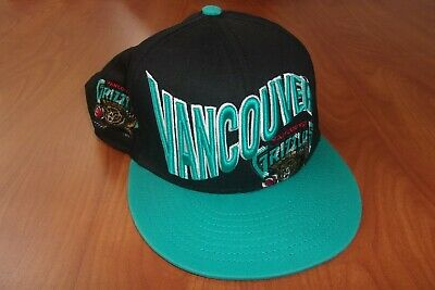 New Era 9Fifty NBA Vancouver Grizzlies Basketball Throwback Snapback Hat ~NEW~