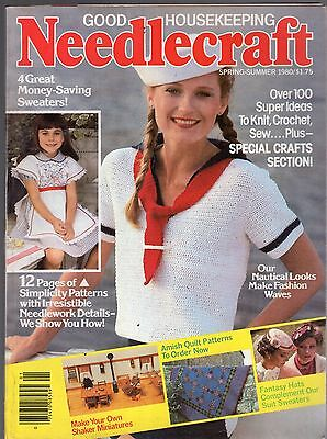 Spring/Summer 1980 Good Housekeeping Needlecraft Magazine-Over 100 Super Ideas
