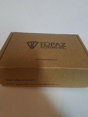 Topaz Systems Inc. Model T-S460-HSB-R usb signature pad