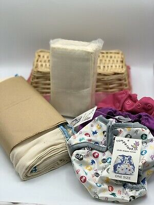 Rumparooz One Size Covers LOT New!! With Prefolds