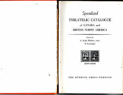 1954 Specialized Philatelic Catalogue Of Canada And British North America-Stamps