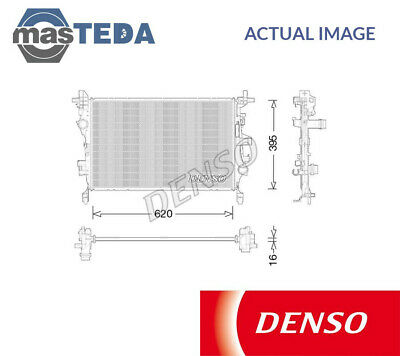 DENSO Radiator Engine Cooling Part DRM50056 Genuine DENSO OE Part