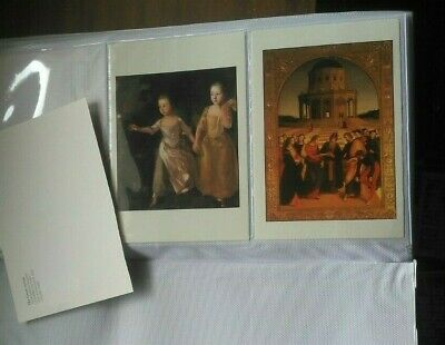 Famous Paintings postcard pictures