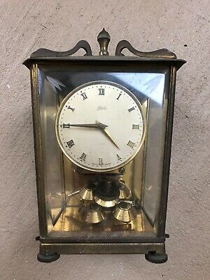 Vintage Schatz 400 Day Anniversary Clock Made Germany For Parts