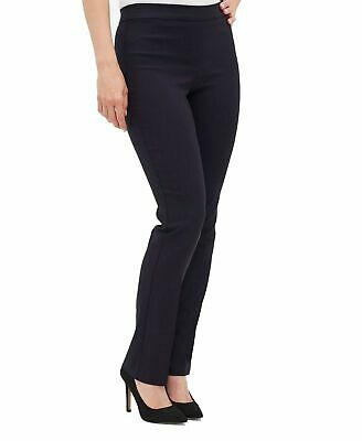 Tribal Womens Pants Black Size 14P Petite Ankle Pull-On Solid Stretch $58- 743