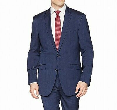 Kenneth Cole Reaction Mens Suit Separate Blue Size 44 Two Button $212- 124