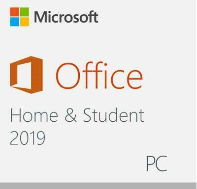 Microsoft Office Home and Student 2019 Windows or Mac 1 device Lifetime