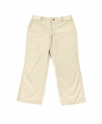 Carhartt Womens Pants Beige 16 Short Force Extremes Original-Fit Stretch $40 094