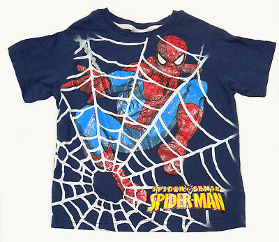 Boys Summer Spiderman T-shirt Size 2 - 3