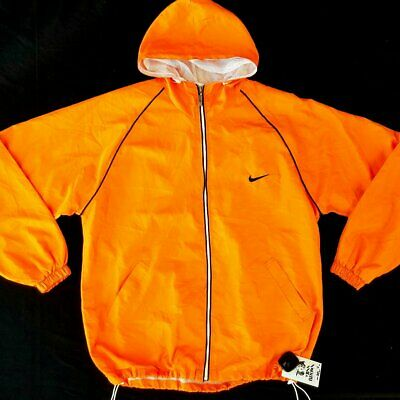 Vintage Nike 90s 00s Old Skool Windbreaker Loud Streetwear Zip Hoodie Jacket XL