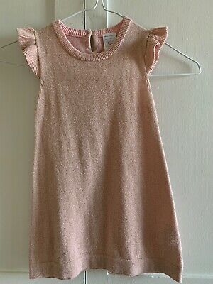 Baby Charlie & Me Sparkly Pink Girls Toddler Dress Size 12-18mths